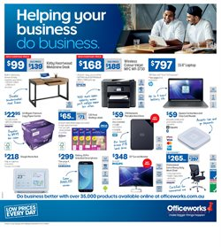 Electronics & Appliances offers in the Officeworks catalogue in Helensburgh NSW