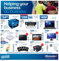 Electronics & Appliances offers in the Officeworks catalogue in Sydney NSW