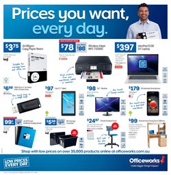 Offers from Officeworks in the Wollongong NSW catalogue