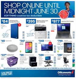 Offers from Officeworks in the Central Coast NSW catalogue