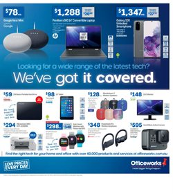 Officeworks catalogue ( 5 days left)