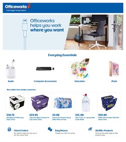 Officeworks catalogue ( 21 days left )