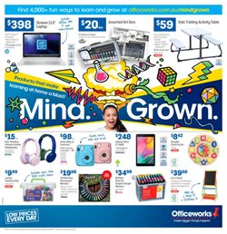 Officeworks catalogue ( 3 days ago )
