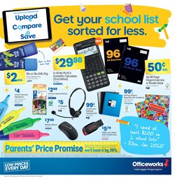Officeworks catalogue ( More than one month )