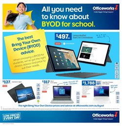 Officeworks catalogue ( 11 days left)