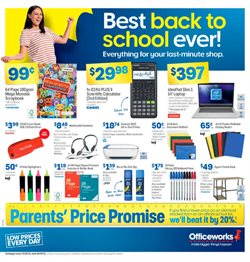 Officeworks catalogue ( 8 days left)