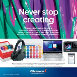 Officeworks catalogue ( 8 days left )