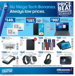 season specials in the Officeworks catalogue ( 3 days left)