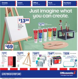 Electronics & Appliances specials in the Officeworks catalogue ( 9 days left)