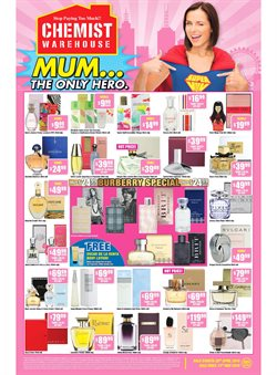 Pharmacy, Beauty & Personal Care offers in the Chemist Warehouse catalogue in Sydney NSW