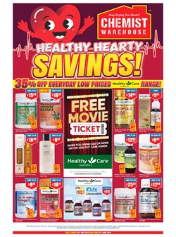 Offers from Chemist Warehouse in the Sydney NSW catalogue