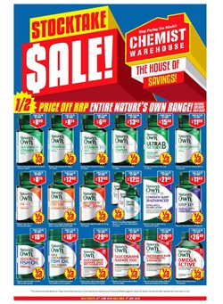 Pharmacy, Beauty & Health offers in the Chemist Warehouse catalogue in Adelaide SA