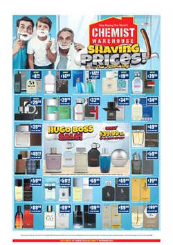 Offers from Chemist Warehouse in the Adelaide SA catalogue