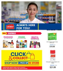 Chemist Warehouse catalogue ( 1 day ago )