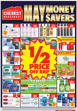 Chemist Warehouse catalogue ( Expires tomorrow )