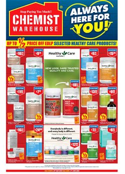 Chemist Warehouse catalogue in Sydney NSW ( 2 days ago )