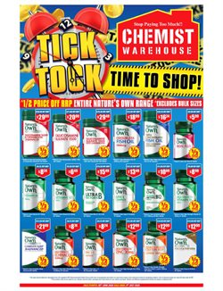Chemist Warehouse catalogue ( 3 days ago )