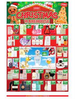 Chemist Warehouse catalogue ( Published today )