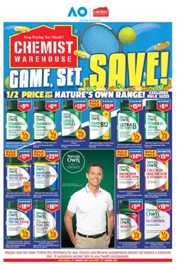 Chemist Warehouse catalogue ( Expires today )