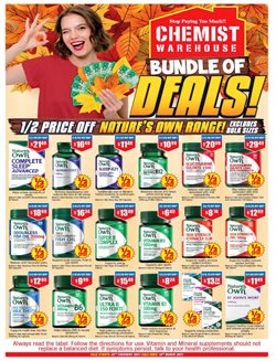 Chemist Warehouse catalogue ( 6 days left )