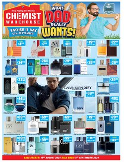 Chemist Warehouse specials in the Chemist Warehouse catalogue ( Expired)
