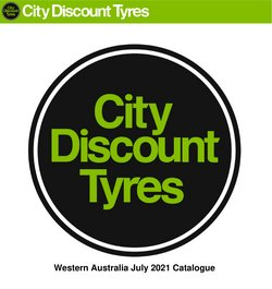 City Discount Tyres specials in the City Discount Tyres catalogue ( 6 days left)