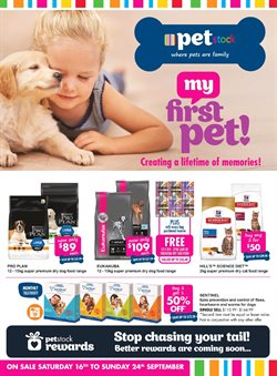 Offers from Pet stock in the Sydney NSW catalogue