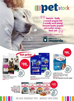 Offers from Pet stock in the Melbourne VIC catalogue