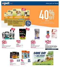 Pet stock catalogue ( 2 days ago )