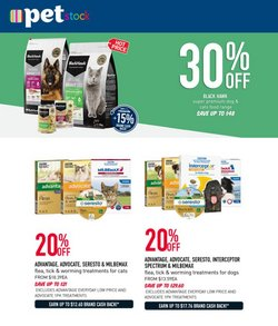 Pet stock specials in the Pet stock catalogue ( Expires today)