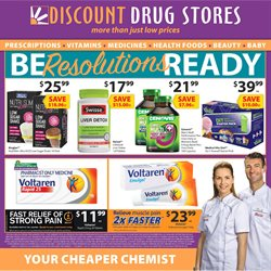 Pharmacy, Beauty & Personal Care offers in the Discount Drug Stores catalogue in Mandurah WA