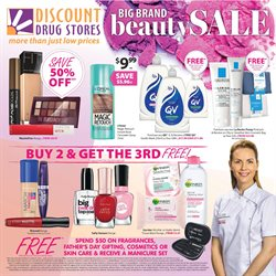 Offers from Discount Drug Stores in the Brisbane QLD catalogue