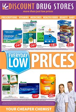 Offers from Discount Drug Stores in the Hobart TAS catalogue