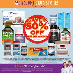 Pharmacy, Beauty & Health specials in the Discount Drug Stores catalogue ( 4 days left)