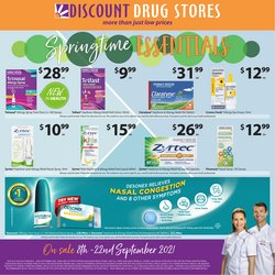 Pharmacy, Beauty & Health specials in the Discount Drug Stores catalogue ( 3 days left)