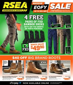 Offers from RSEA in the Melbourne VIC catalogue