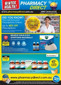 Pharmacy, Beauty & Health specials in the Pharmacy Direct catalogue ( 11 days left)