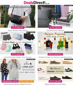 Department Stores specials in the Deals Direct catalogue ( 10 days left)