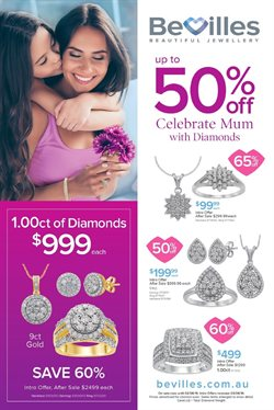 Offers from Bevilles Jewellery in the Melbourne VIC catalogue