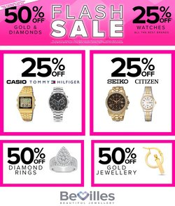 Bevilles Jewellery specials in the Bevilles Jewellery catalogue ( Expires tomorrow)
