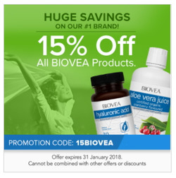 Offers from BIOVEA in the Sydney NSW catalogue