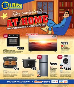 Electronics & Appliances offers in the Bi-Rite catalogue in Roma QLD ( 2 days ago )