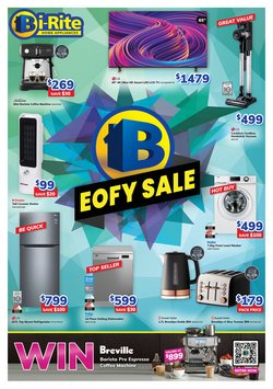 Electronics & Appliances specials in the Bi-Rite catalogue ( Expires today)