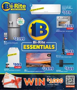 Electronics & Appliances specials in the Bi-Rite catalogue ( 5 days left)