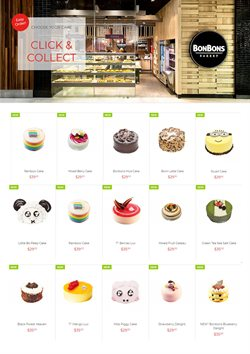Offers from BonBons Bakery in the Melbourne VIC catalogue