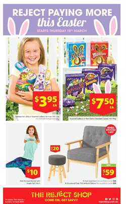 Department Stores offers in the The Reject Shop catalogue in Swan Hill VIC