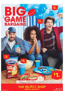 Department Stores offers in the The Reject Shop catalogue in Sydney NSW