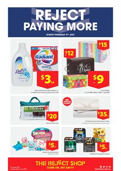 Offers from The Reject Shop in the Brisbane QLD catalogue