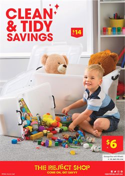 Offers from The Reject Shop in the Baldivis WA catalogue