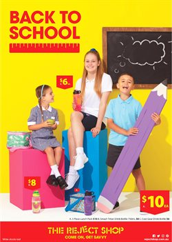 Department Stores offers in the The Reject Shop catalogue in Baldivis WA